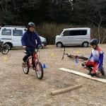 自転車キッズ検定体験・練習会(2015.02.15)-2