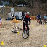 自転車キッズ検定体験・練習会(2015.02.15)-4