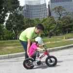 キックバイクより自転車よ