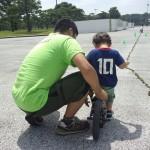 サッカー大好き男の子の挑戦