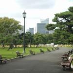 写真中央細長い建物は東京タワー