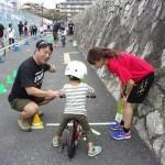 陸上競技の吉川選手