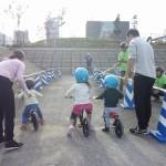 キックバイク体験会