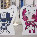 東京2020オリンピックマスコットも飾ってありました