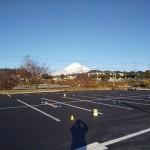 富士山が近いです